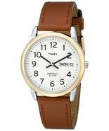 Timex Men's T20011 Easy Reader Brown Leather St... - $23.95