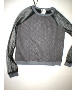 New Womens NWT $120 Mesh Sweatshirt Mika & Gala... - $120.00