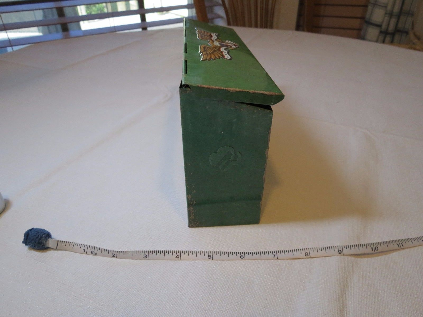Juliette Gordon Low Birthplace metal mail box Girl Scouts Replica collectible