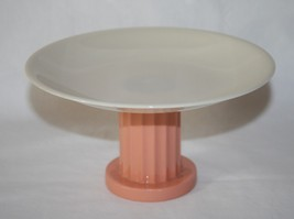 Vintage Lenox USA Green Mark Coral Ivory Small Compote - $58.00