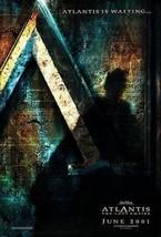 "ATLANTIS THE LOST EMPIRE - D/S 27""x40"" Original Movie Poster One Sheet D... - $29.39"