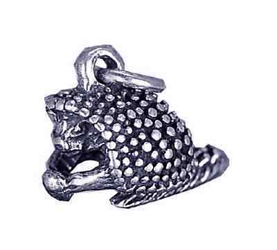 New 3D Porcupine Solid Sterling Silver Charm Jewelry