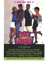 LIVIN' LARGE - 27x40 D/S Original Movie Poster One Sheet 1991 - $19.59