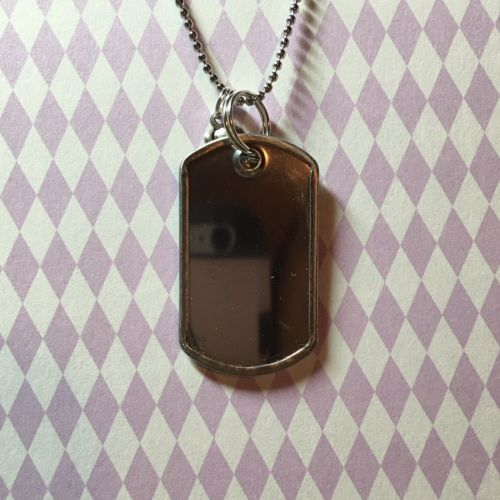 Fun R5 Band With Logo Mini Dog Tag Style Pendant (Ross Lynch)