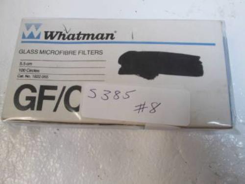 Whatman 1822 055 Glass Microfibre Filters 55cm  100 Circles  - New In Box