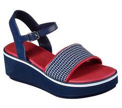 Skechers 34207 NVRD Women's HUSH HUSH Sandals - $64.00