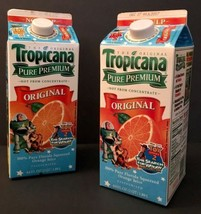 Tropicana Orange Juice 64 oz Carton Toy Story 2 Search For Woody Set of 2 - $33.65