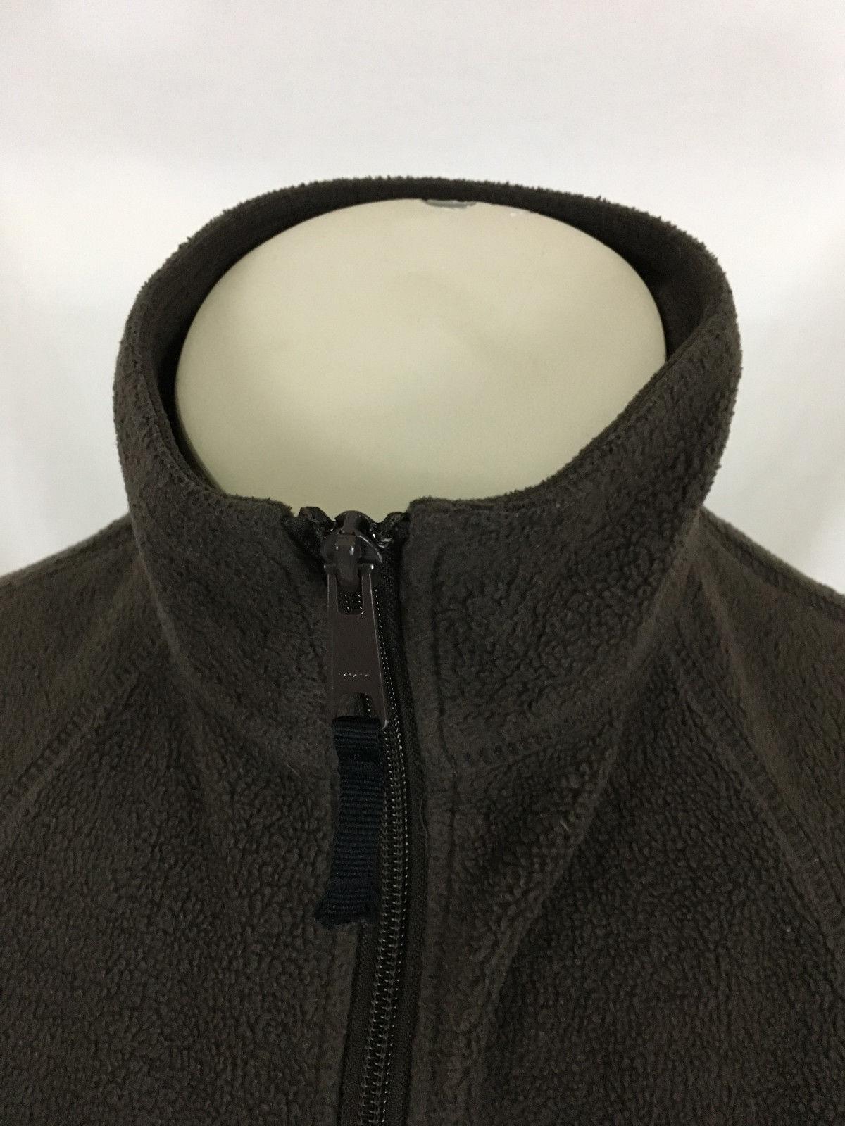 Columbia Sportswear Company Brown Fleece Vest Women's Medium