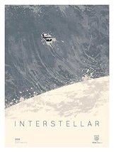 "INTERSTELLAR 12""x16"" Original Promo Movie Poster 2014 IMAX Wave Version ... - $24.49"