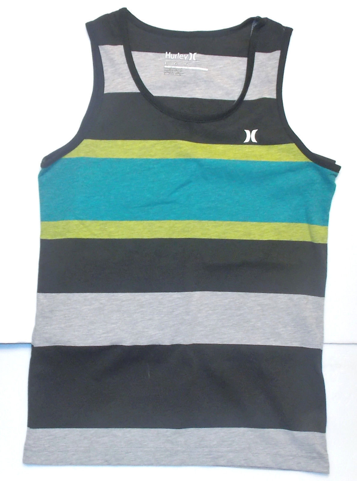 Hurley Boys Premium Tank Top T-Shirt NWT Turquoise  Size Small  or Large