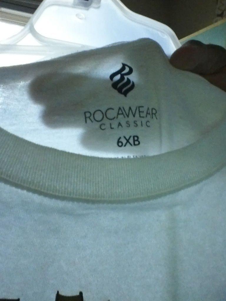 ROCAWEAR WHITE URBAN TEE 6 XB