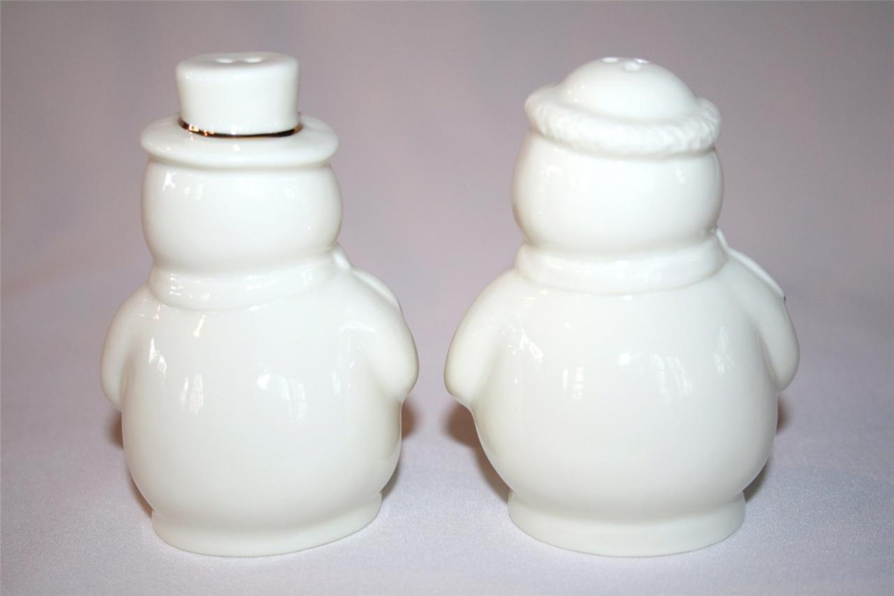 FORMALITIES by Baum Bros. Snowman Salt Pepper Shakers  #976