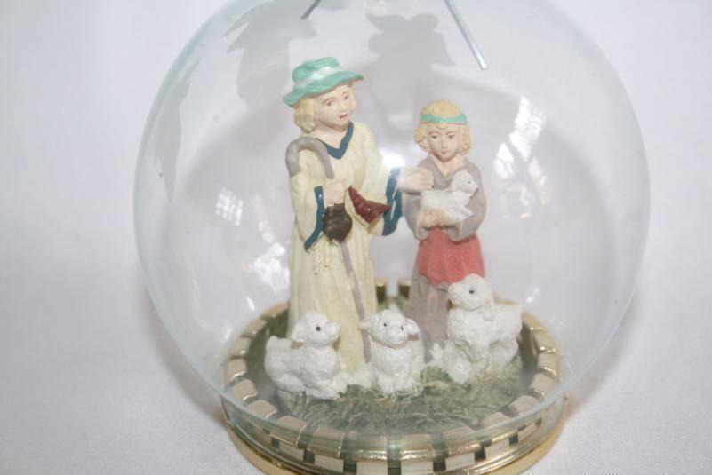 House of Lloyd Glass Ball Shepard Ornament in Box   #9876