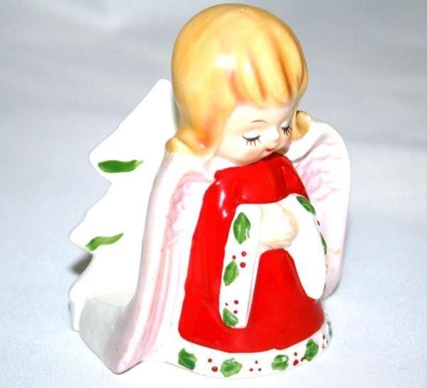 Vintage LEFTON #6111 Japan Angel Napkin Holder  964