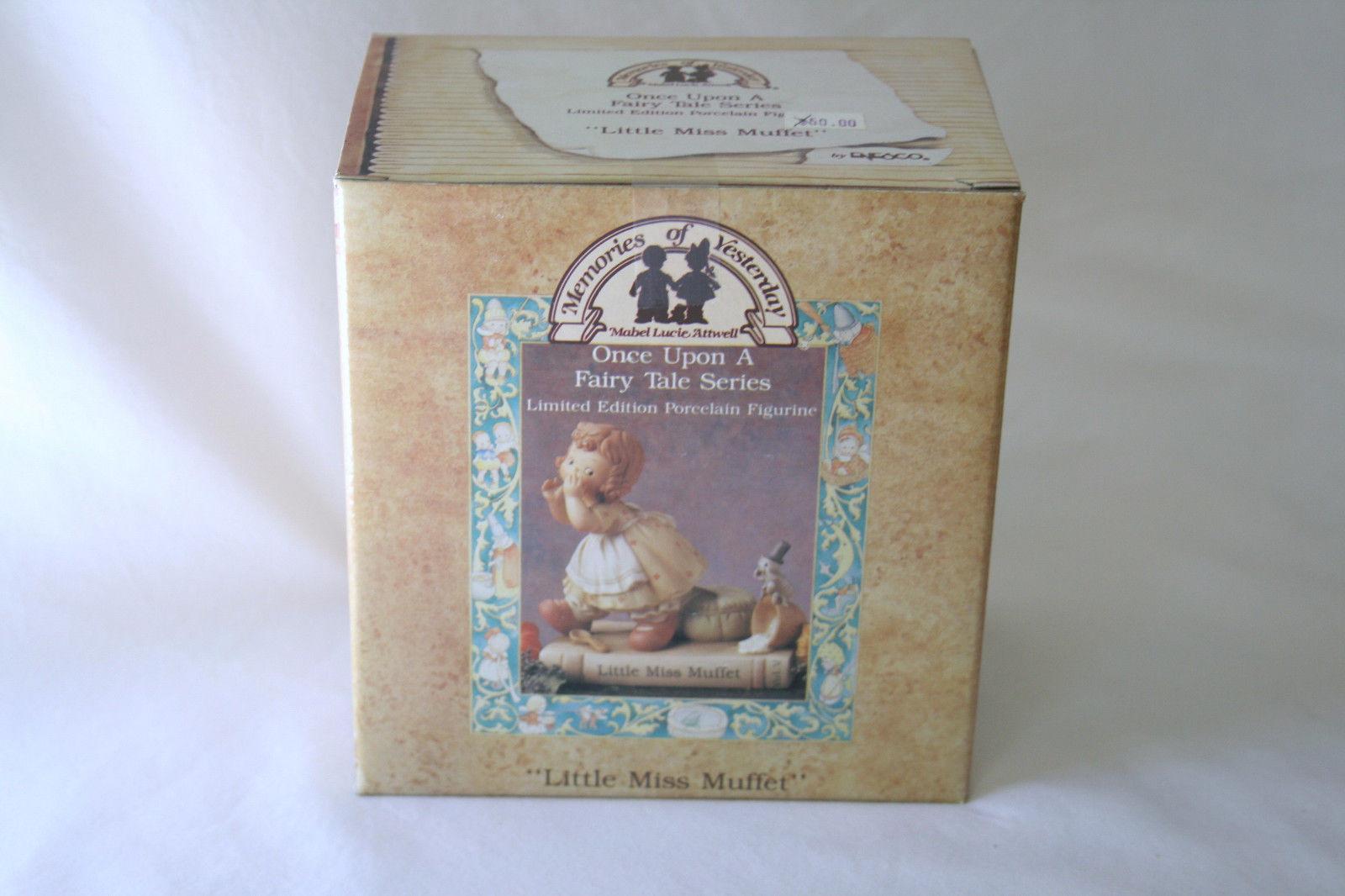 "1993 Memories Of Yesterday Fairy Tale Series ""Little Miss Muffet""  #526444 -MIB-"