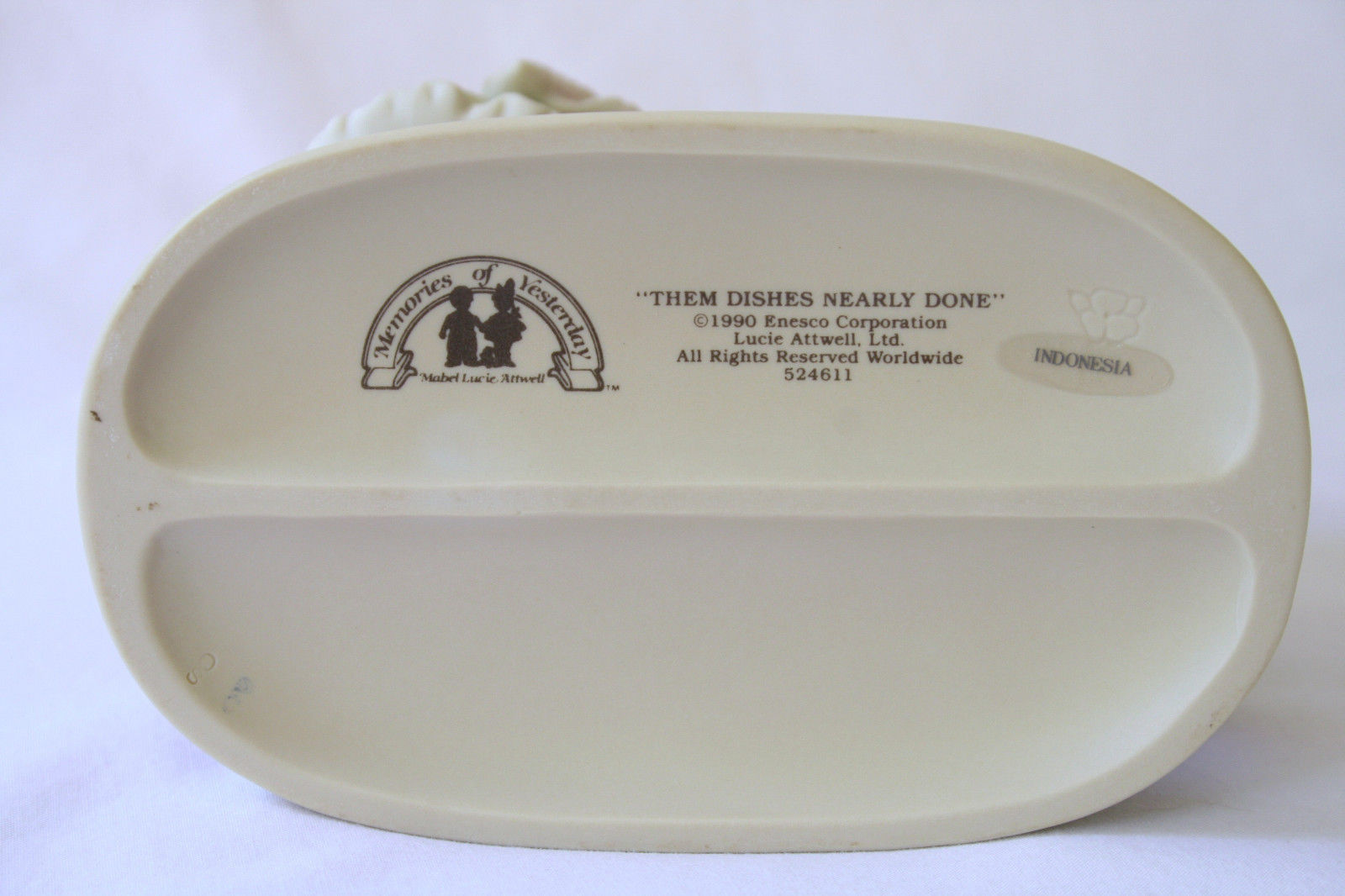 """1990 Memories Of Yesterday """"Them Dishes Nearly Done""""  #524611   -MIB-"""