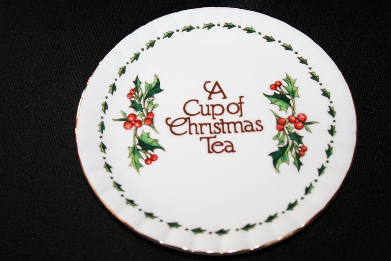 Waldman House A Cup of Christmas Tea Mini 10 Piece Tea Set CT133 in Box  #1808