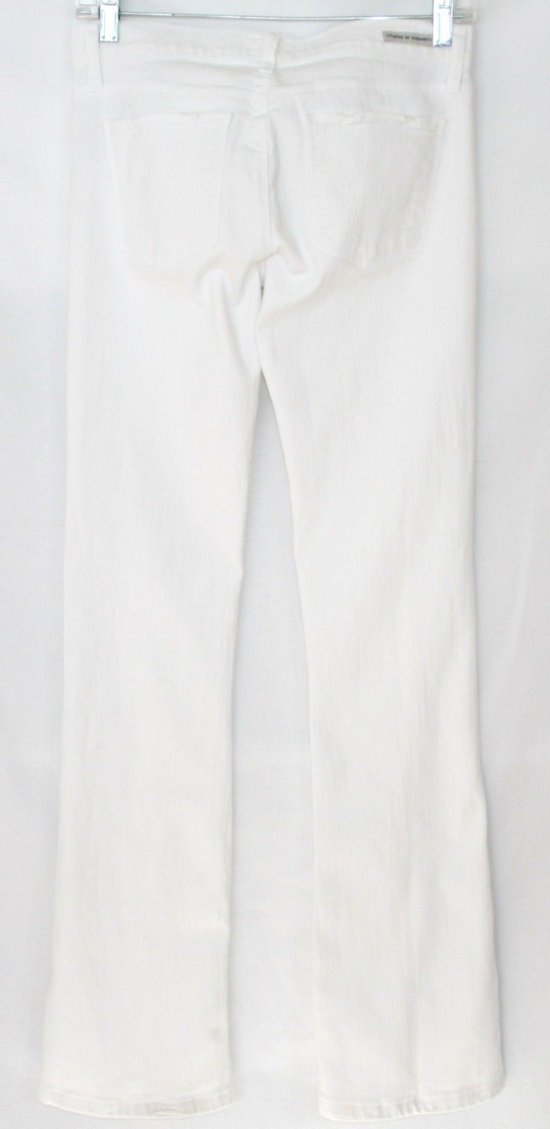 CITIZENS OF HUMANITY Jerome Dahan Freyed White Bootcut 5 Pocket Jeans Size 26