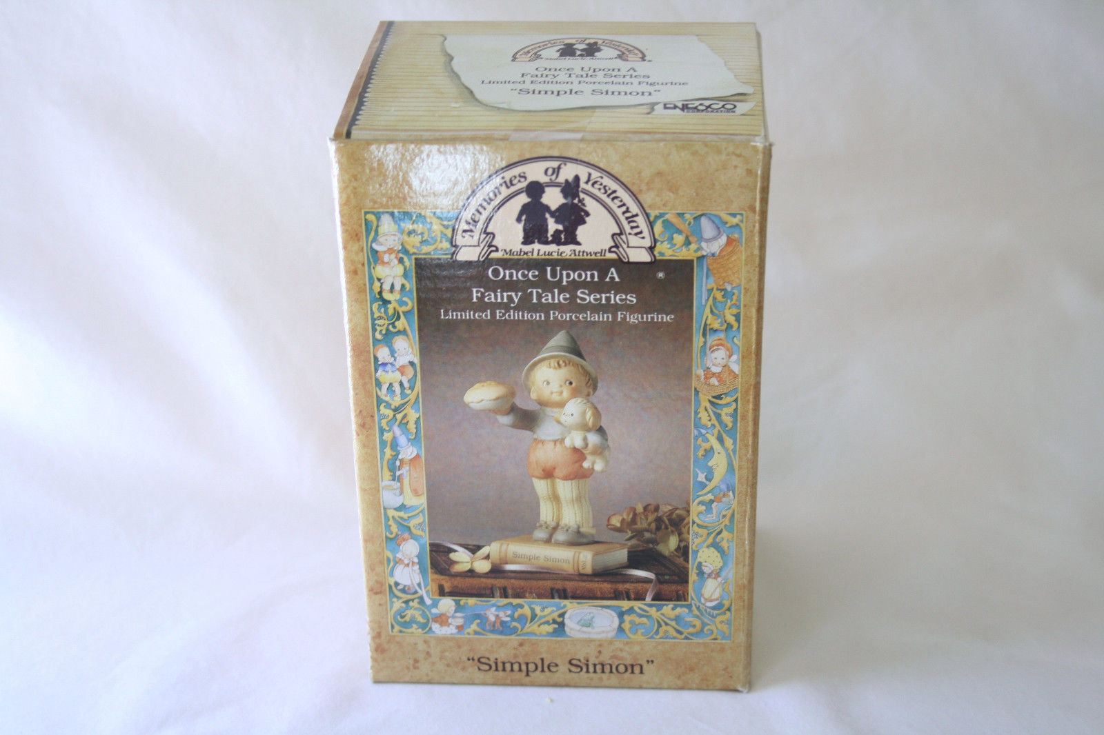"1992 Memories Of Yesterday Fairy Tale ""Simple Simon""  #526452  -MIB-"