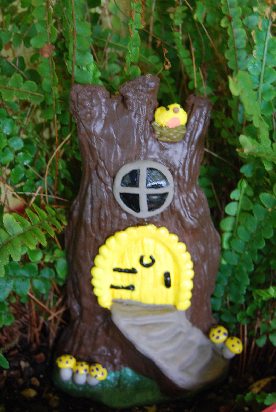 Magic Tree House Fairy Hobbit Elf Home Decoration - Paint Your Own - DIY Craft