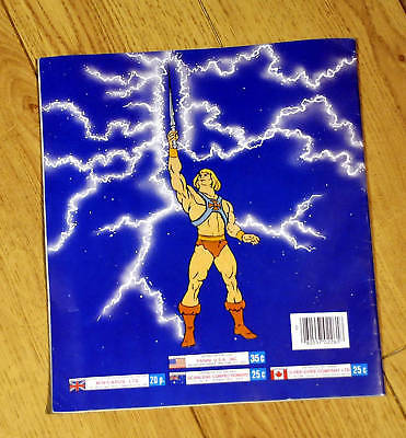 Rare Excellent Condition Master of the Universe He-Man Sticker Book Panini Album