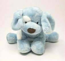 Bébé GUND Spunky Bleu & Blanc Chiot Chien #058377 Peluche Animal Jouet Adorable - $23.14