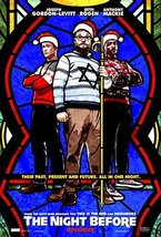 "THE NIGHT BEFORE 11.5""x17"" Original Promo Movie Poster 2015 Seth Rogen - $9.79"