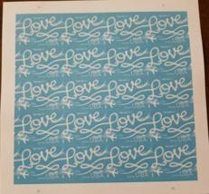 LOVE Skywriting 2016 (USPS) MINT SHEET FOREVER ... - $12.95
