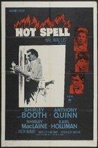 HOT SPELL - 27x41 Original Movie Poster One Sheet 1958 Folded - $24.49