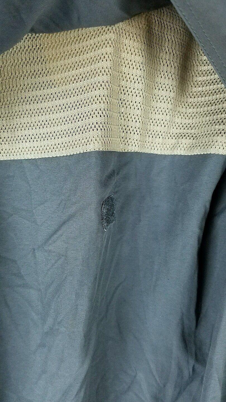 REI men's XL performance hiking vented fishing button down camp shirt