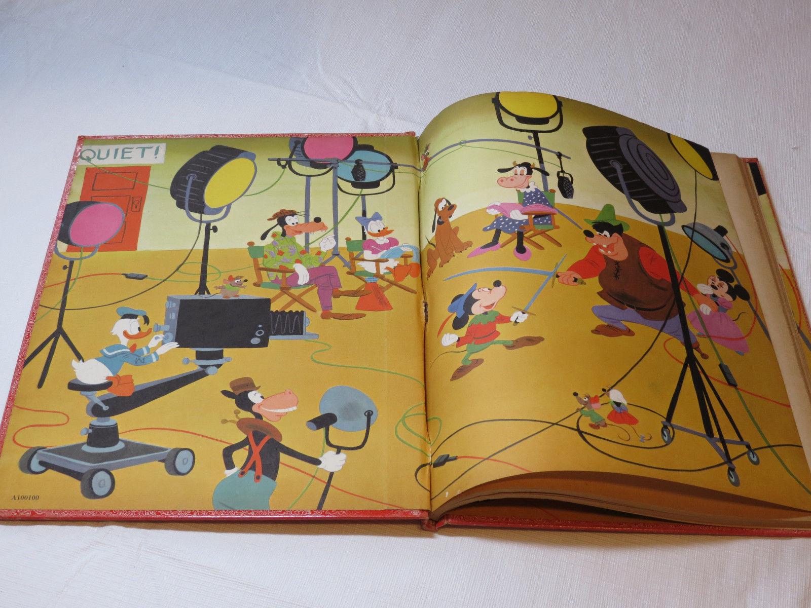 Walt Disneys Mickey Mouse Birthday Book Big Golden Book Hardcover Vintage 1953