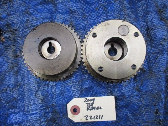 04-08 Acura TSX K24A2 camshaft gears cam gears RBB K24 engine motor OEM 221211