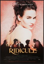 """RIDICULE - 27""""x40"""" Original Movie Poster One Sheet 1996 FRANCE Patrice L... - $24.49"""