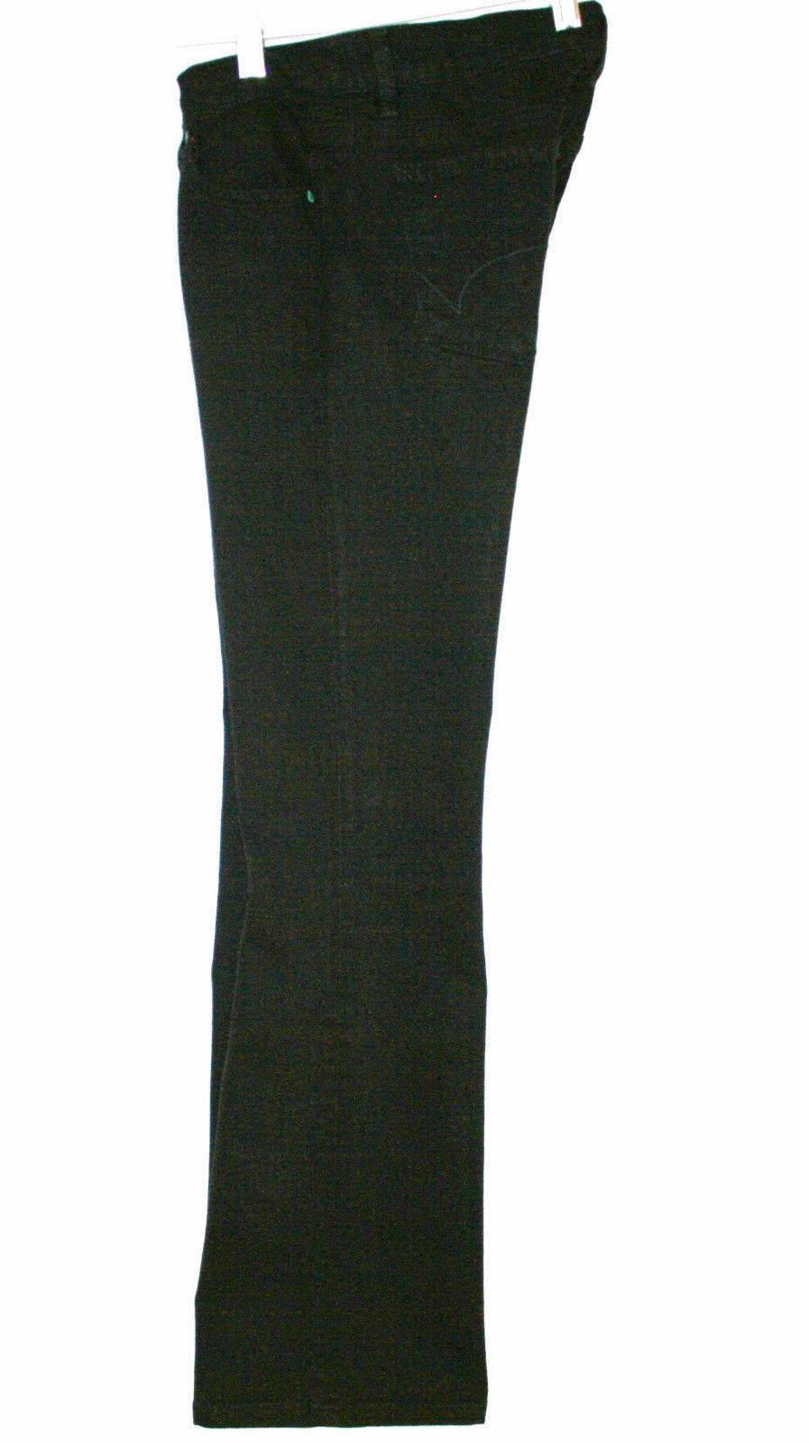 Hard Tail Forever Holly Super Low Black 5 Pocket Jeans Size 27  -Worn Once EUC-