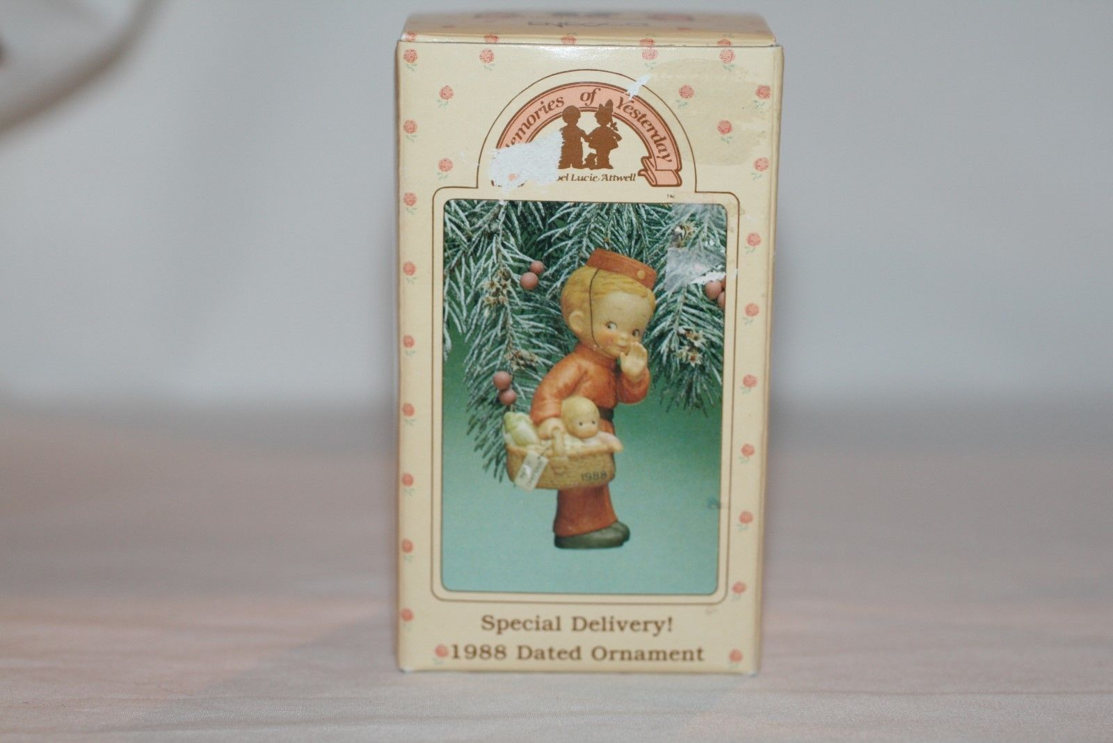 "Memories Of Yesterday Ornament 1988  ""Special Delivery""  #520381  MIB"