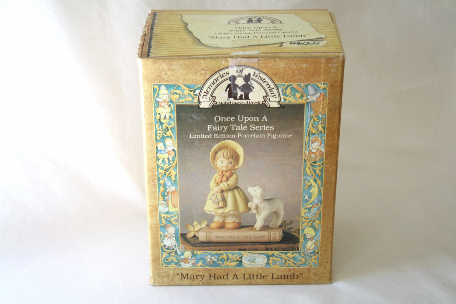 """1992 Memories Of Yesterday Fairy Tale """"Mary Had A Little Lamb""""  #526479 -MIB-"""