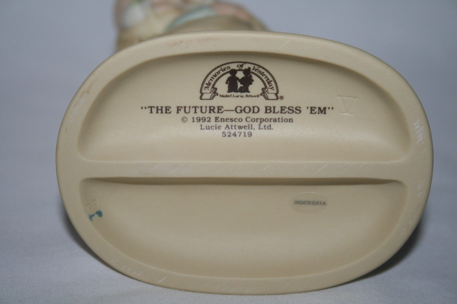"Memories Of Yesterday 1992  ""The Future - God Bless 'Em"" Figurine  #524719 -MIB-"