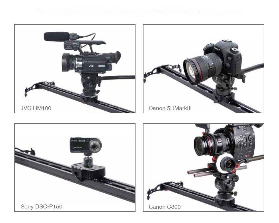 "Life Of A Camera Pro SlideCam Lite S600 24"" Inch Video Slider Stabilizer Rail"