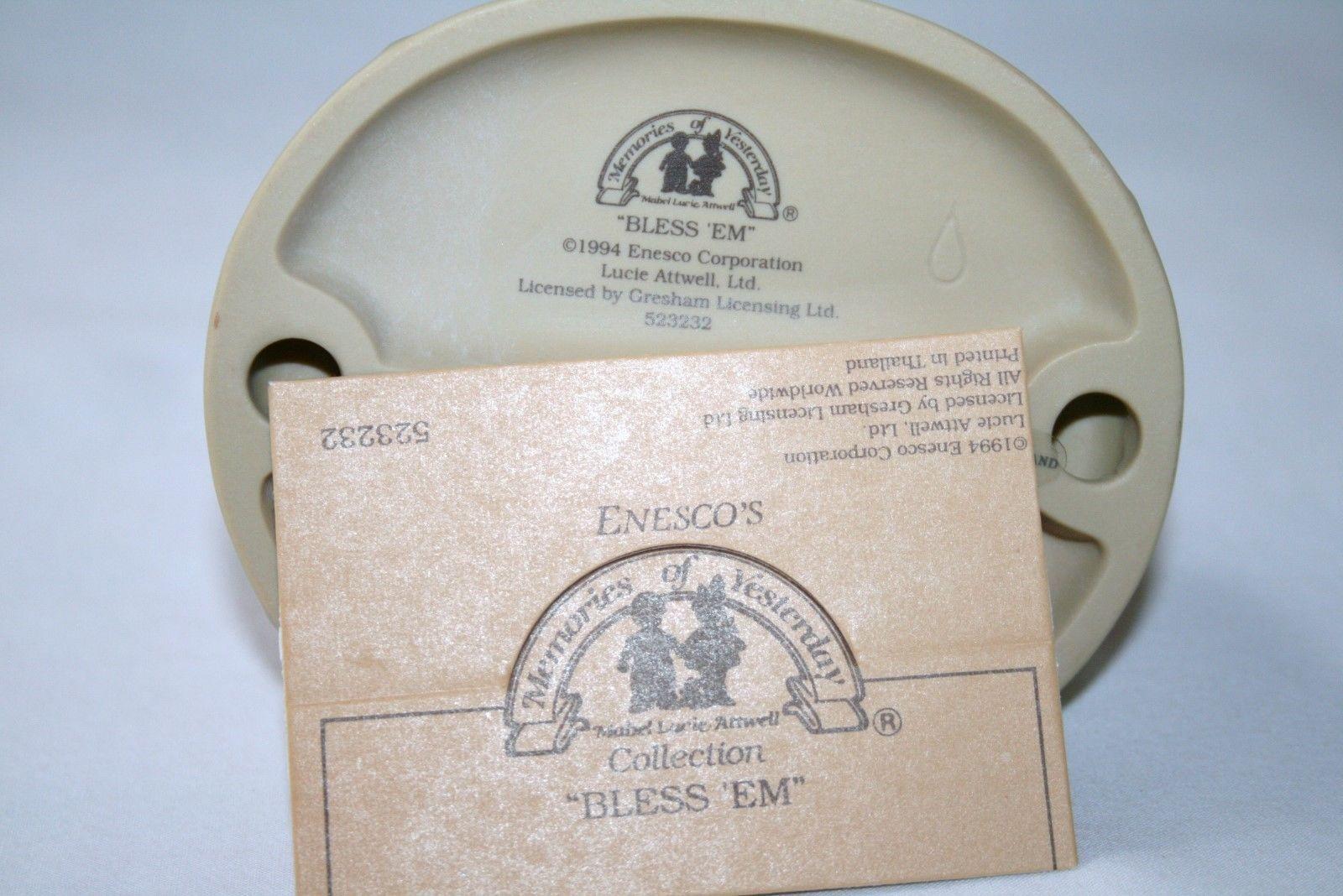 "Memories Of Yesterday 1994 ""Bless'Em"" Figurine  #523232 MIB"