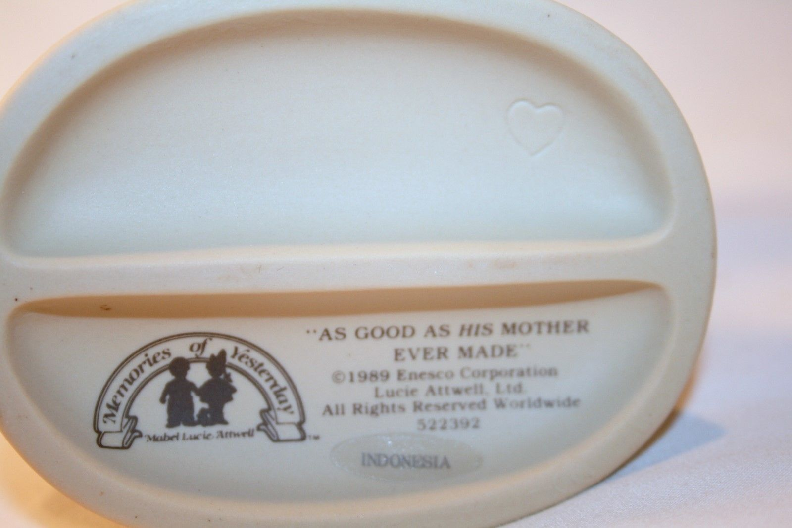 """Memories Of Yesterday 1989  """"As Good As His Mother Ever Made""""  #522392  -MIB-"""