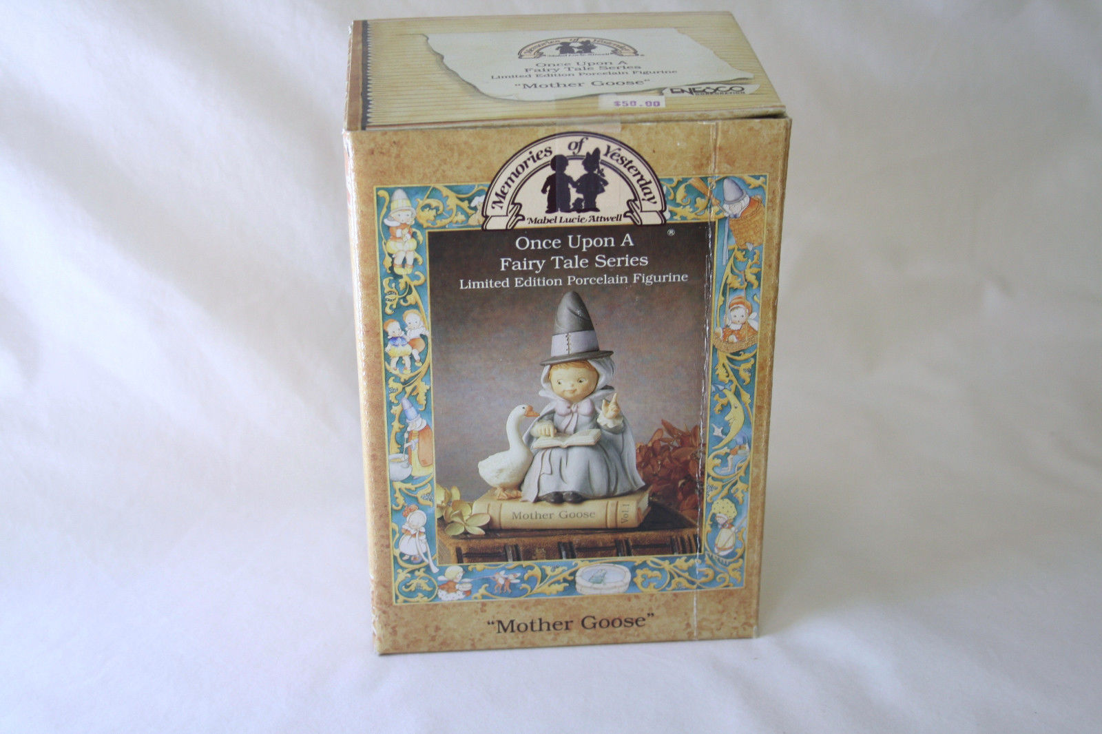 """1992 Memories Of Yesterday Fairy Tale """"Mother Goose""""  #526428  -MIB-"""