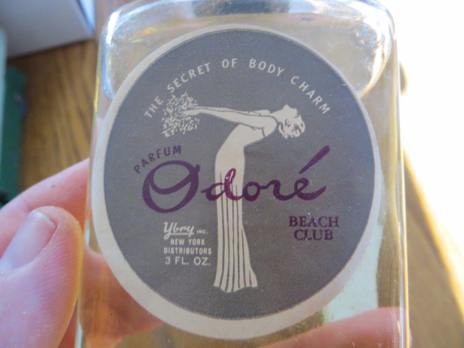 parfum Odorade Beach Club vintage collectible bottle in box, original perfume