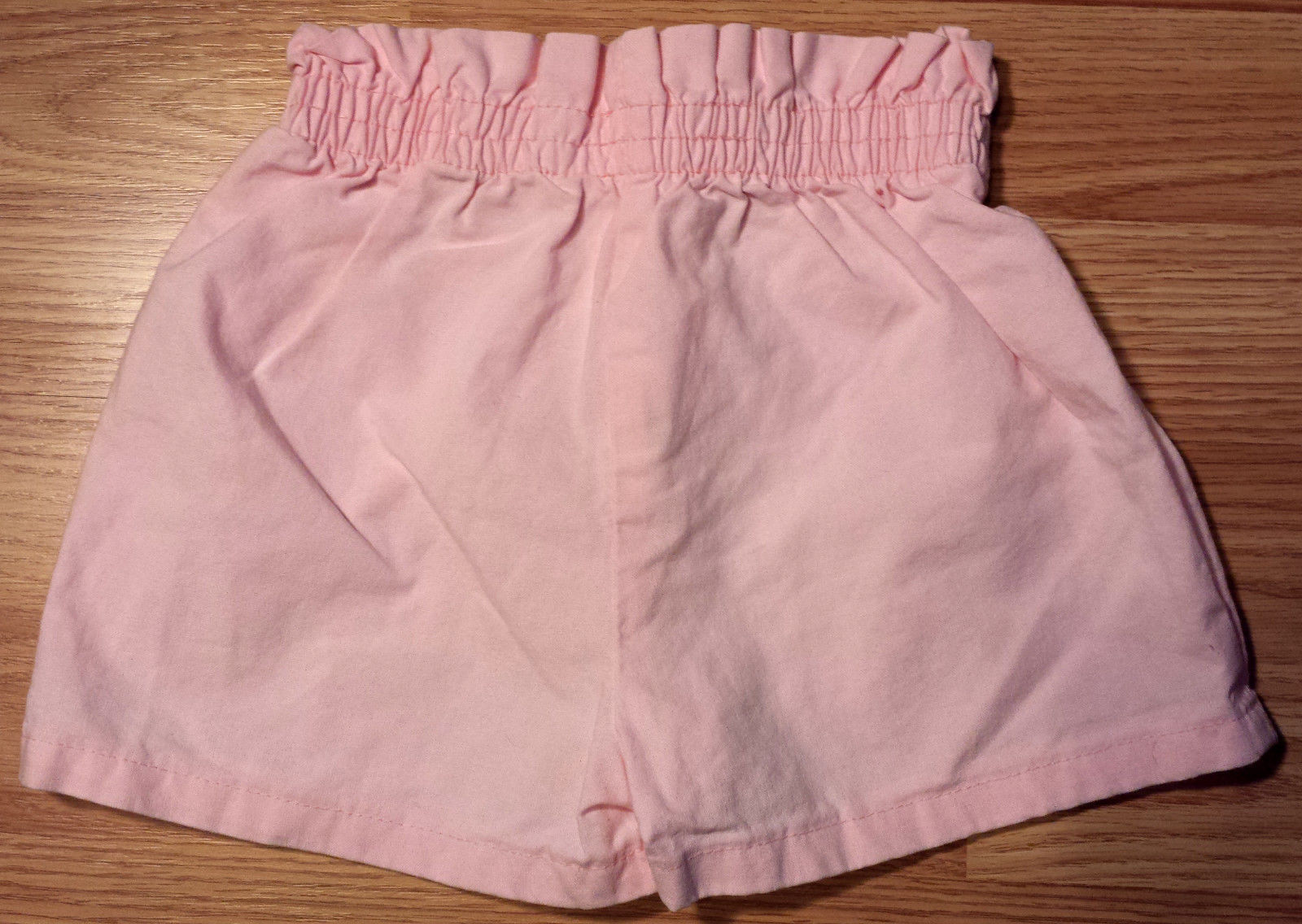"""Girl's Size 18-24 M Months Two Piece Pink """"Be Mine"""" Heart Old Navy Top & Shorts"""