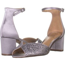 Jewel by Badgley Mischka Sycamore Ankle Strap Sandals 204, Silver Satin,... - €25,73 EUR