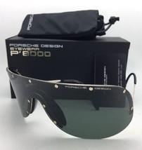 New PORSCHE DESIGN Gold Shield Sunglasses P'8479 A as Worn by KIM KARDASHIAN