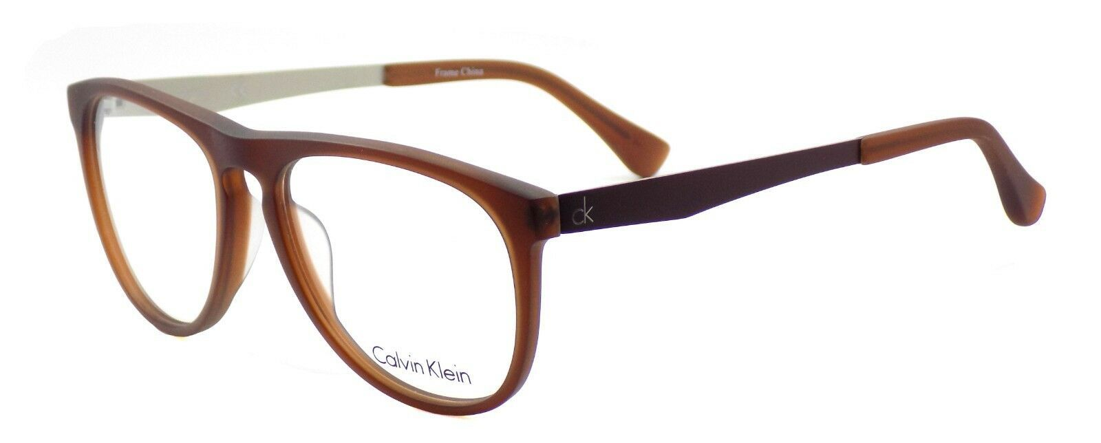 Calvin Klein CK5888 201 Men's Eyeglasses Frames Matte Brown 54-16-145 + CASE