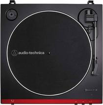 Audio Technica AT LP 60X Red Turntable Fully Automatic Stereo Record Player - image 3