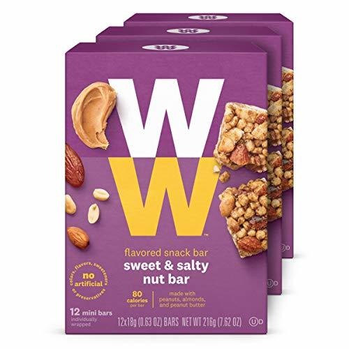 Primary image for Discontinued: WW Sweet and Salty Nut Mini Bar - High Protein Snack Bar, 2 SmartP