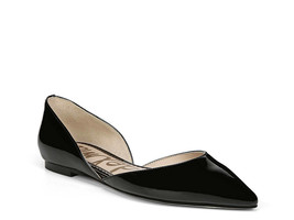 New Sam Edelman Rodney D'Orsay Patent Leather Black Pointy Toe Flats Size 8 - $50.00