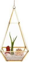 Mindful Design Glass Terrarium - Geometric Large Diamond Desktop Garden ... - $22.93